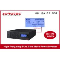3000-500VA High Efficiency Pure Sine Wave Inverter For Home Equipments , 0.8 PF Manufactures