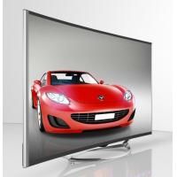 China 50 Inch Curved 4K TV / Curved Flat Screen TV Narrow Bezel Full HD1080P on sale