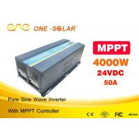 Home Use 4000 Watt Solar PV Inverter For Ground Mounting System High Efficiency Manufactures