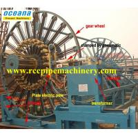 !0% off for the New Wheel Assemble of Concrete Pipe Reinforced Cage welding Machine!!! Manufactures