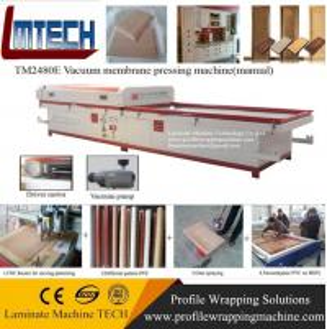 China PVC skins door vacuum membrane press machine with CE on sale