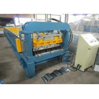 China 1200mm Floor Metal Deck Roll Forming Machine With Anti - Rust Roller 480V /60HZ wholesale
