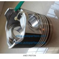 5-87814919-0 4HE1 Piston Liner Kits (Set of 4 Cylinder) Piston Fit For Isuzu 4HE1 Manufactures