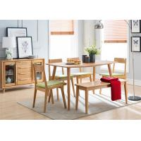 China Commercial Dining Room Oak Solid Wood Bench Practical Environment - Friendly on sale