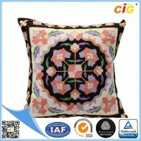 China Faux Fur / Polyester Multi Color Square Pillow  Home Textile Products for Couch wholesale