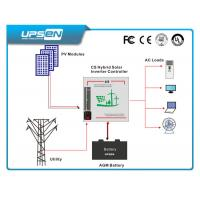 Pure Sine Wave Hybrid Solar Power Inverter for Household With 12 / 24 / 48VDC Manufactures