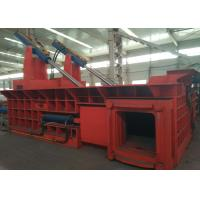 China 200t dual drive hydraulic pressing scrap steel baling PLC control automatic baler on sale