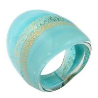 China Engagement antique Murano glass cocktail rings kids jewellery heart pendants wholesale on sale
