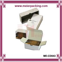 China Rigid set up business card boxes/Duplex paper business card box ME-CD043 on sale