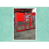 High Efficiency Rack And Pinion Elevator Hoist With Anti-Fall Safety Device Manufactures