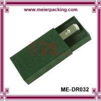 New Design green texture Paper drawer design Rigid USB Box with EVA insert Manufactures