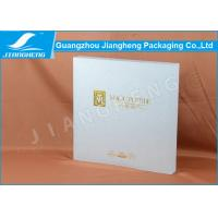 SGS Logo Printing Cosmetic Packaging Boxes Hot Stamping With Eva Insert Manufactures