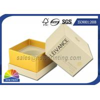 Perfume / Cosmetics Paper Gift Box Rigid Setup Boxes With UV Varnishing Manufactures