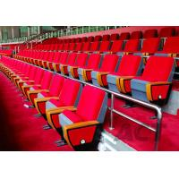 China School Hall Commercial Theater Seating / Audience Seating Chairs Fireproof on sale