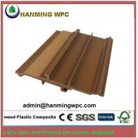 China Anti-slip Weather Resistant Durable Wood Plastic Composite WPC wall cladding on sale