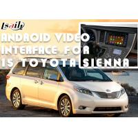 China Original Car Screen Installation Android Auto Interface For TOYOTA Sienna 2015 on sale