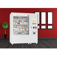 China Bus Station Snack Vending Kiosk , Mini Mart Food Vending Machine With Big Touch Screen wholesale