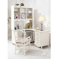 luxury modern white wood home office corner desk furniture Manufactures