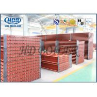 China High Corrosion Fuel Gas Boiler Fin Tube Economizer For Heat Reovery Systems on sale