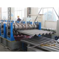 Carbon Steel Pipe Making Equipment / Culvert Machine With Cutting Blade Manufactures