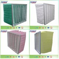 China High Capacity Multilayer Synthetic Filter Media Non-Woven Bag Air Filter on sale