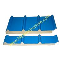 Color Steel Polyurethane Sandwich Panel Metal Roofing Sheets Board Insulation Manufactures