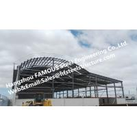 China Metal Galvanized Steel Frame Buildings , Fabricated Steel Structure Construction on sale