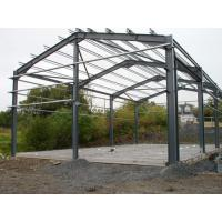 Light Structural Steel Framing Systems For Industrial Steel Buildings, Warehouse Building Manufactures