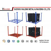 Foldable And Stackable Logistic Tire Storage Shelf Powder Coated 500kg Capacity Manufactures