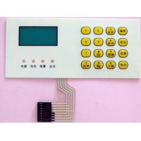 Custom 3m Adhesive Tactile Membrane Switch Remote Control Keyboard Panel
