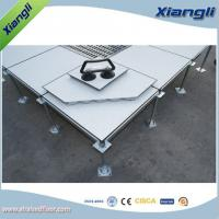 China 600MM PVC Raised Floor Raised Modular Flooring Flame Retardant on sale