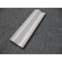 Embossed Foam PVC Skirting Board / Chair Rail 15mm Thickness Moisture Proof Manufactures