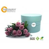 China Flower Gift Box Universal Paper Round Flower Box CMYK Full Color Offset Printing on sale