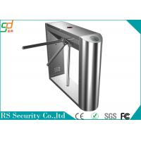 China Bi - Directional Semi Automatic 3 Arm Turnstile Tripod with RFID Reader on sale