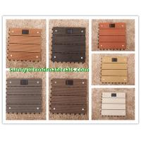 China Hot sell 300x300mm DIY modern decking tiles 100% recyclable wpc DIY decking tiles on sale