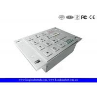 Dust Proof USB Numeric Metal Keypad With 4x4 Matrix and Flush Keys Manufactures