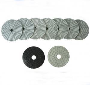 China Beige Dry Wet Polishing Pads on sale