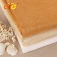 Buy cheap Abrasion - Resistant Upholstery 100% Polyester Suede Fabric for Car Seat / Shoes from wholesalers