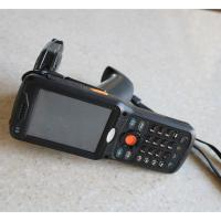 Buy cheap Android 4.3 Bluetooth RFID Hand Held Barcode Data Reader For Library , 3.5 TFT LCD Screen from wholesalers