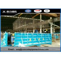 China Multi Purpose Concrete Tube Forming Machine , Pipe Moulding Machine Easy Install wholesale