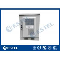 China Small Size Outdoor Telecom Equipment Cabinets Customized Sheet Metal Box With Heat Exchanger wholesale