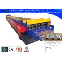 3 Phase Metal Deck Roll Forming Machine Galvanized Steel 11KW 380v 50Hz Manufactures