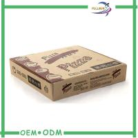 Eco - Friendly Corrugated Paper Box Paper Pizza Box  OEM Design Manufactures