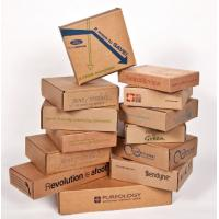 Double Wall Cardboard Boxes , Custom Sized Cardboard Mailing Boxes Manufactures