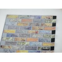 China 3d Mosaic Self Adhesive Wall Tiles For Kitchen Metallic Vinyl on sale