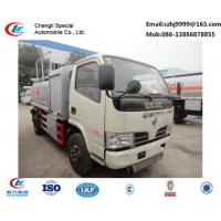 factory sale best dongfeng 5,000L fuel dispensing truck, hot sale best price dongfeng 5m3 fuel tank truck for sale Manufactures
