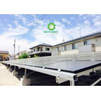 China 1MW Large Scale Utility Solar Racking Systems for Grid Tied System on sale