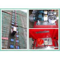 Rack & Pinion Elevator With Twin Cage , Passenger Material Hoist Heavy Capacity Load Manufactures