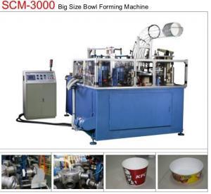 China 19KW 80pcs/min Paper Bowl Machine Servo Control Large Dimension Ultrasonic Sealing wholesale