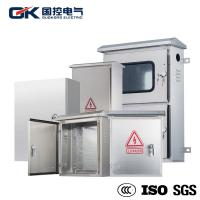 China OEM Offered Stainless Steel Industrial Enclosures / Electrical Metal Cabinets on sale